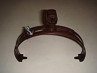 Держатель токоотвода коньковый лакированый круглый с пластиком 10/ОС PL, фото 1