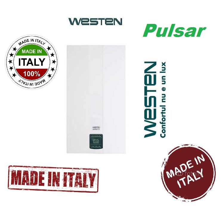 Газовый котел WESTEN PULSAR D24 Fi (турбированный)
