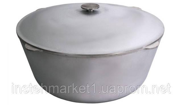 Казанок БИОЛ К4000 (40л) алюминиевый с крышкой в интернет-магазине
