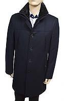 Мужское зимнее пальто . Темно-синее. Турция