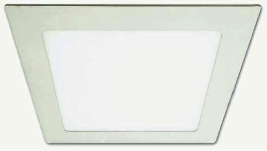 Светильник светодиодный AL502 20W квадрат 1600Lm 6400K 240*240*19mm