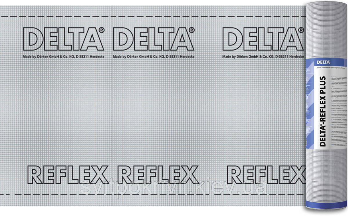 Пароизоляция Dorken Delta REFLEX