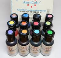 Краситель пищевой гелевый для аэрографа 20 мл. Ameri Color(США)