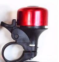 Звонок на руль велосипедный (велозвонок вело для велосипеда), красный