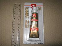 Герметик медный силиконовый высокотемпературный 25г  ABRO 418-AB-R медный