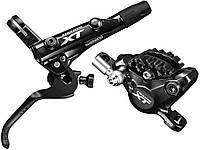 Тормоз передний Shimano Deore XT M8000 (калипер BR-M8000, ручка BL-M8000, гидролиния SM-BH90 800 мм)