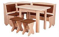 Кухонный уголок «Император»  с раскладным столоми двумя табуретами