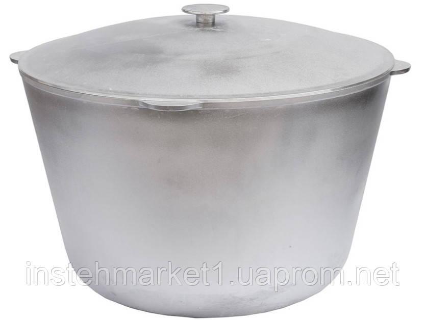 Казанок БІОЛ К2500 (25 л) алюмінієвий з кришкою