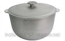 Казанок БІОЛ К0600 (6 л) алюмінієвий з кришкою, фото 3