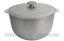 Казанок БІОЛ К2500 (25 л) алюмінієвий з кришкою, фото 3