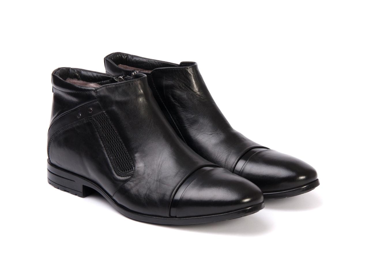 Ботинки Etor 9529-7040 черные