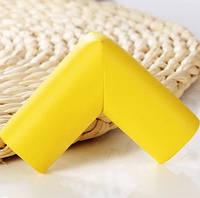 Мягкая накладка на углы - стандартная. Желтый.