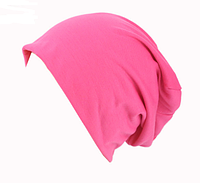 Шапка чулок для подростков и взрослых розовая
