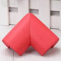 Мягкая защита на углы - большая. Красный.