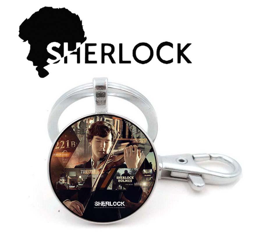Брелок Sherlock Holmes Шерлок Холмс играет на скрипке