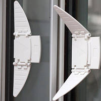 Защита от детей на шкаф - купе. Блокиратор для раздвижных систем. (1 штука)