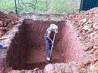 Земляные работы,ямы,траншеи