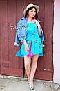 Вышитая туника платье лен вышиванка бохо стиль этно, платье открытые плечи, фото 2