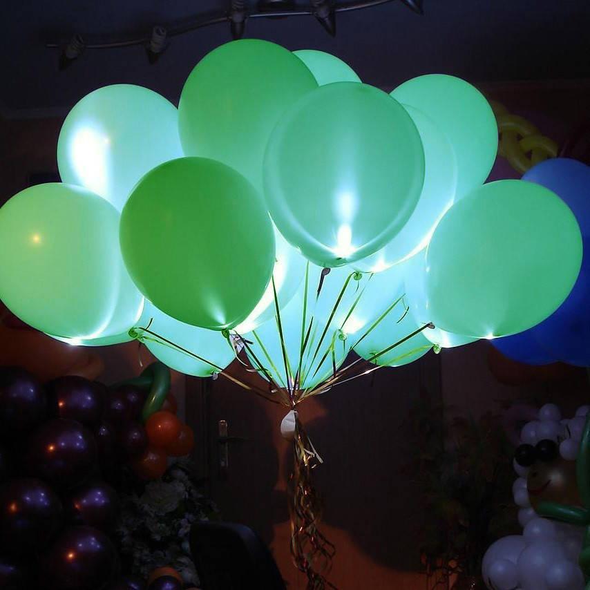 Шар светящийся зеленый