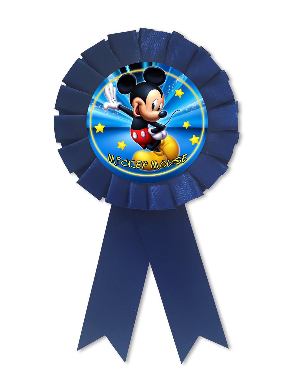 Медаль для именинника Микки Маус