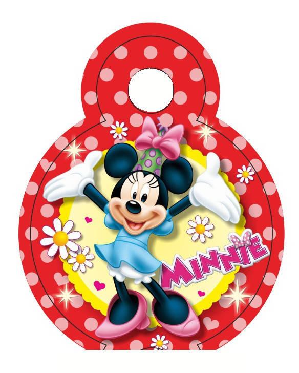 Медальки для конкурсов Минни Маус 10 шт.