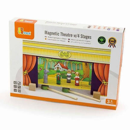 """Игровой набор Viga Toys """"Театр"""" (56005), фото 2"""