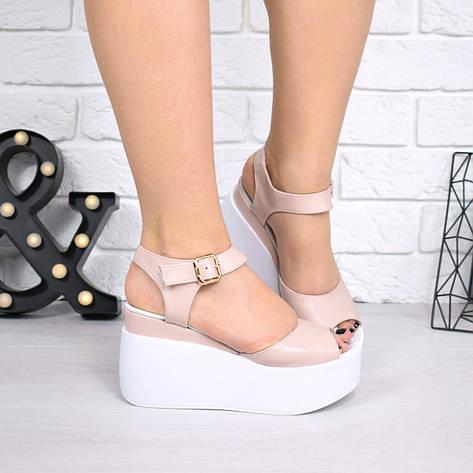 c8178f86 Босоножки, туфли, сандали, сабо женские на платформе пудровые