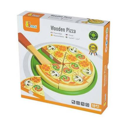 """Игровой набор Viga Toys """"Пицца"""" (58500), фото 2"""