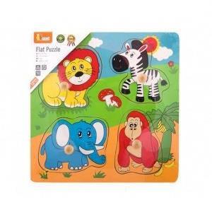 """Пазл Viga Toys """"Дикие животные"""" (59563), фото 2"""