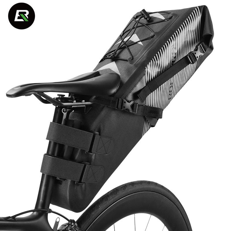 Велосумка подседельная (крыло) RockBros водонепроницаемая черная