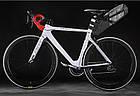 Велосумка подседельная (крыло) RockBros водонепроницаемая черная, фото 5