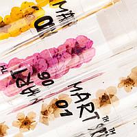 Сухоцветы в колбе в ассортименте