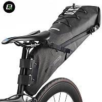 Велосумка підсідельна (крило) RockBros водонепроникна чорна