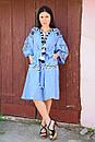 Платье вышитое бохо вышиванка лен этно бохо-стиль вишите плаття вишиванка стиль Вита Кин, фото 4