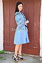 Платье вышитое бохо вышиванка лен этно бохо-стиль вишите плаття вишиванка стиль Вита Кин, фото 5