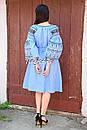 Платье вышитое бохо вышиванка лен этно бохо-стиль вишите плаття вишиванка стиль Вита Кин, фото 6