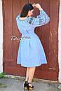 Платье вышитое бохо вышиванка лен этно бохо-стиль вишите плаття вишиванка стиль Вита Кин, фото 7