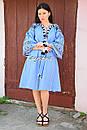Платье вышитое бохо вышиванка лен этно бохо-стиль вишите плаття вишиванка стиль Вита Кин, фото 8
