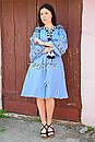Платье вышитое бохо вышиванка лен этно бохо-стиль вишите плаття вишиванка стиль Вита Кин, фото 9