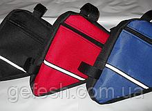 Вело сумка подрамная треугольная велосипедная сумка для велосипеда, велосумка велобардачок