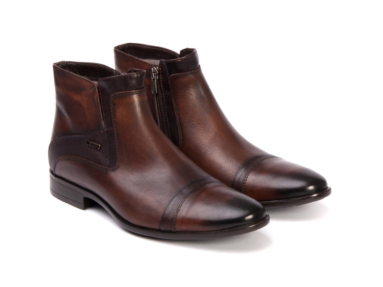 Ботинки Etor 11039-3615 коричневые