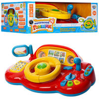 Автотренажёр для малышей  Я тоже рулю Limo toy (Joy Toy) 7318 рус, укр