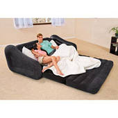 Надувной диван трансформер 2 в 1 Intex 68566 (193-221-71 см)