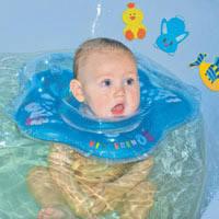 Круг для купания младенцев KinderenOK Baby (10 расцветок)