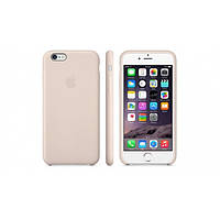Чехол Leather Case для iPhone 6 beige