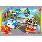 Пазл из серии Robocar Poli (Робокар Полли) G-Toys 8 видов
