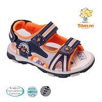 Детские открытые босоножки спорт для мальчика, летняя детская обувьТом.М.  разм.21-26, фото 1