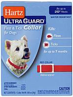 Ошейник Hartz Ultra Guard для собак от блох и клещей на 7 месяцев, 51см. Красный