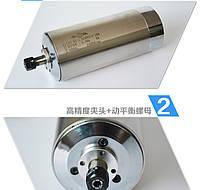Шпиндель 1.5 квт c водяным охлаждением ER11 к ЧПУ