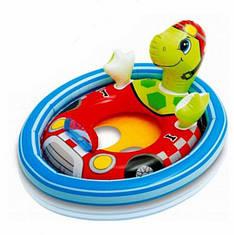 Детский надувной круг Intex 59570T Черепаха